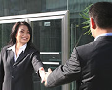 Lawyer Handshake With Client
